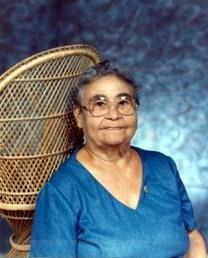 Gloria Cruz obituary photo