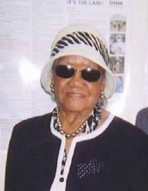 Carrie Mae Nance obituary photo