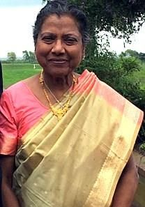 Ruth Navamanie Mathew obituary photo
