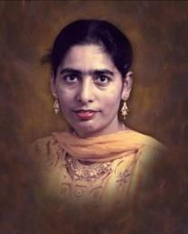 Parkash Kaur Boparai obituary photo
