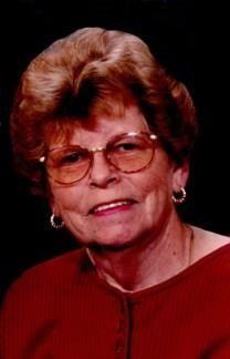 Betty Jean Franks obituary photo