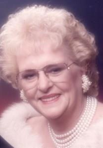Betty Jane Pallas obituary photo
