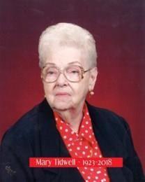 Mary Moneta Tidwell obituary photo