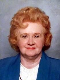 Thelma Louise Strong obituary photo
