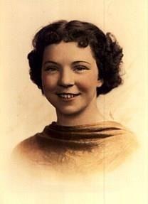 Ruth Agnes Bush obituary photo