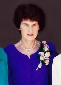 June Elizabeth Milne obituary photo