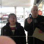 Mom and I at the Southlake Mall