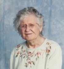 Alta Mae Gossett Galyean obituary photo