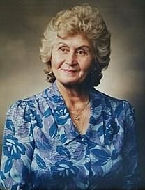 Herta Maria Benk obituary photo