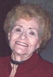 Georgia Mildred Hampton obituary photo