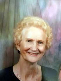 Jeanette Lee Robertson obituary photo
