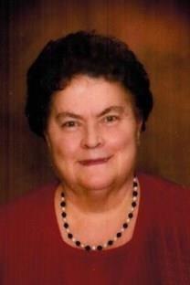 Mary Burraston obituary photo