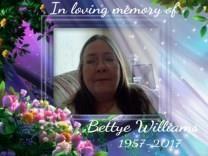 Bettye Jean Williams obituary photo