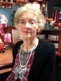 Thelma Burton obituary photo
