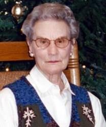 Myrtle Katherine Eilert obituary photo