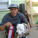 Daniel and Blue 2nd Place