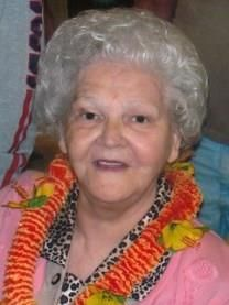 Opal Orene Williams obituary photo