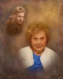 Gladys Cline Pinkston obituary photo