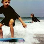 the first days of surfing