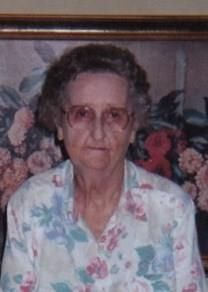 Bessie Agness Alexander obituary photo