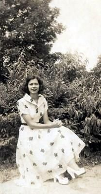 Blanche Lanford Vickery obituary photo