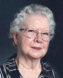 Mary Evelyn Filkins obituary photo