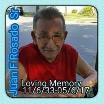 Juan F. Rosado obituary photo