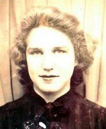 Nellie Tucker obituary photo