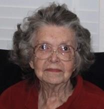 Gladys Vivian Page obituary photo