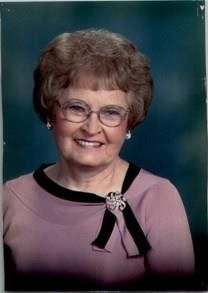 Irma Mae Thompson obituary photo