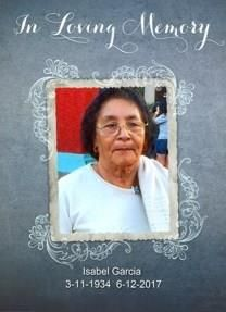 Maria Isabel Garcia obituary photo