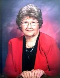 Hazel Louise Hudson obituary photo