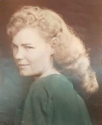 Lorene Watson Wise obituary photo