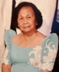 Floria P. Obrero obituary photo