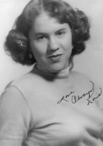 Doris Bordeaux obituary photo