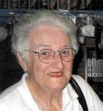 Helen Mae Wuertz obituary photo