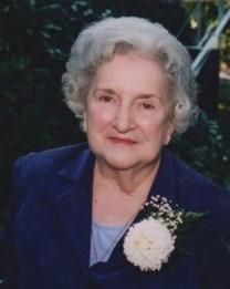Mary Russell Cater obituary photo