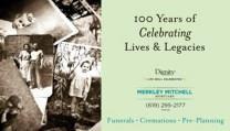 100 Years of Celebrating Lives Legacies obituary photo