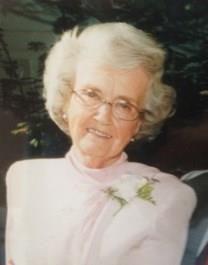 Geraldine Ray Fletcher obituary photo
