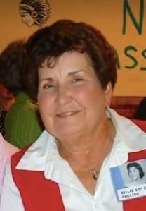 Billie Ann Collins obituary photo