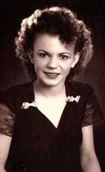 Irene Lula Barron obituary photo