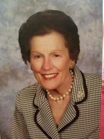 Gladys Belle Hartley obituary photo
