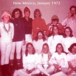 January 1972: New Mexico with group of students