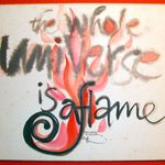 1980 calligraphy: The Whole Universe...