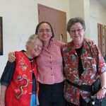 September 2009 at Scribes exhibition Clearwater with Ruth Pettis and Nancy VanWinkle