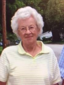 Marcella May Weakley obituary photo