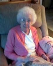 Zelda Marie Teeter obituary photo
