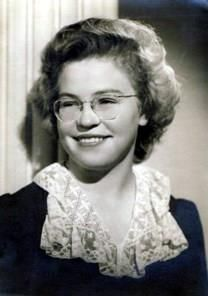 Barbara Jean Perl obituary photo