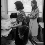 1965 drawing class critique session