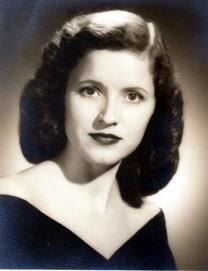 Doris Davis Mills obituary photo